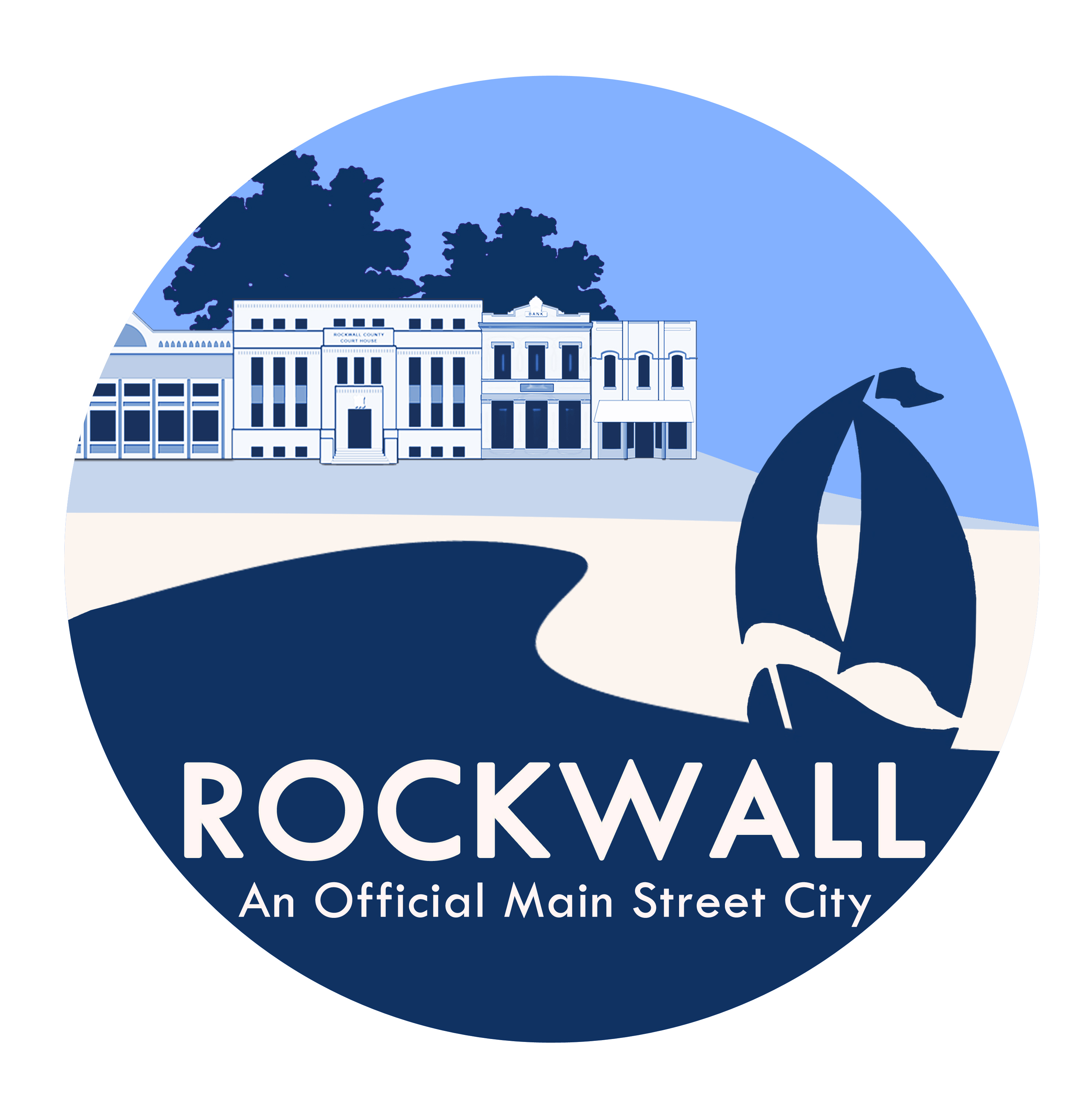 Rockwall Main Street Logo - 2010
